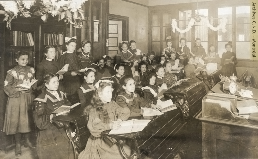 Class at the convent