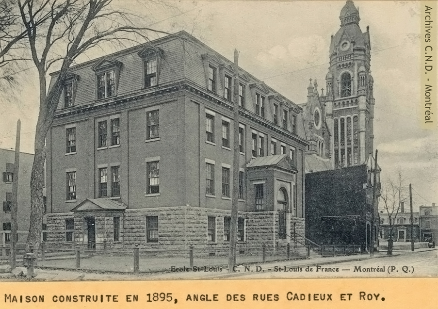 Vista exterior - École Saint-Louis-de-France