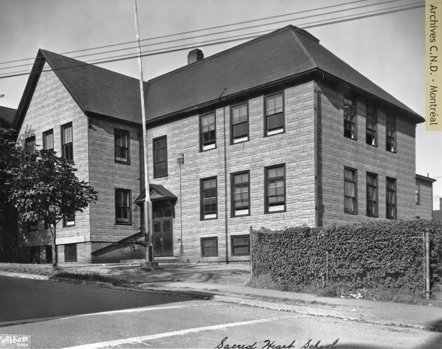 Exterior view - Sacred Heart School
