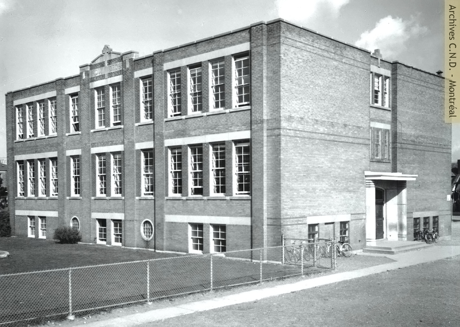 Exterior view - Holy Cross School