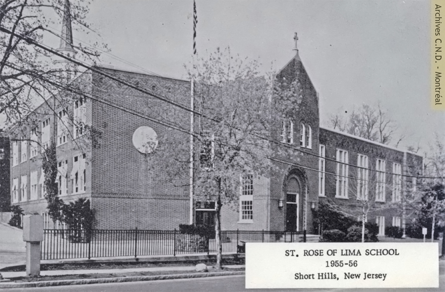 Exterior view - Saint Rose of Lima School
