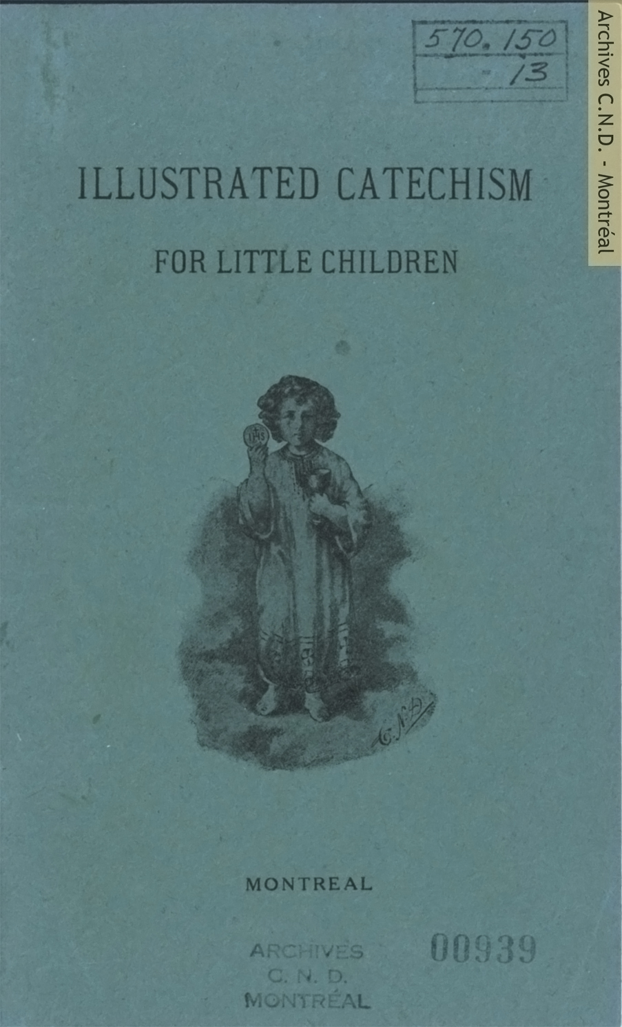 Page couverture - Illustrated Catechism for little children
