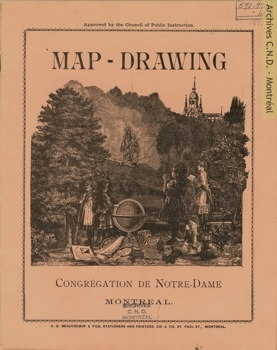 Page couverture - Map-drawing