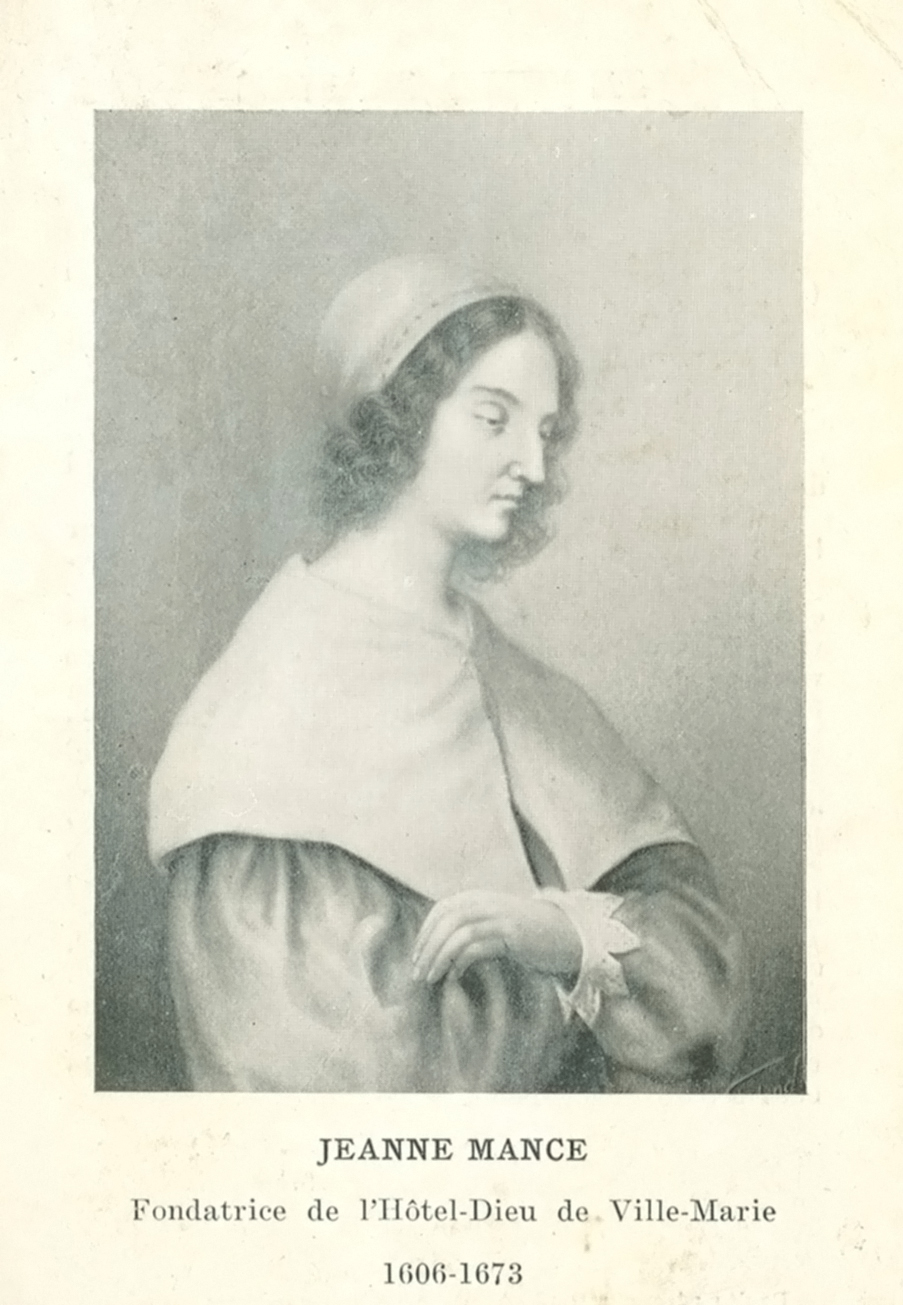 Portrait of Jeanne Mance