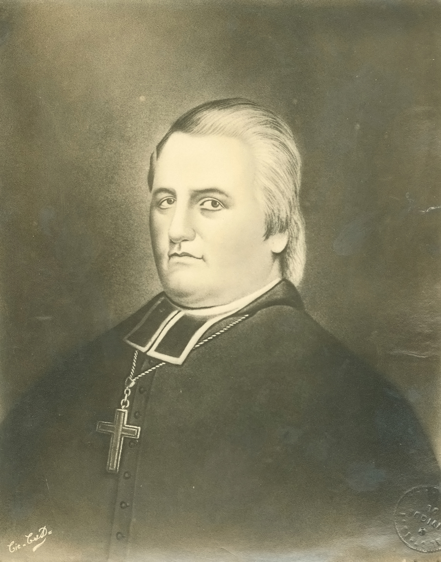 Portrait of Mgr. Plessis