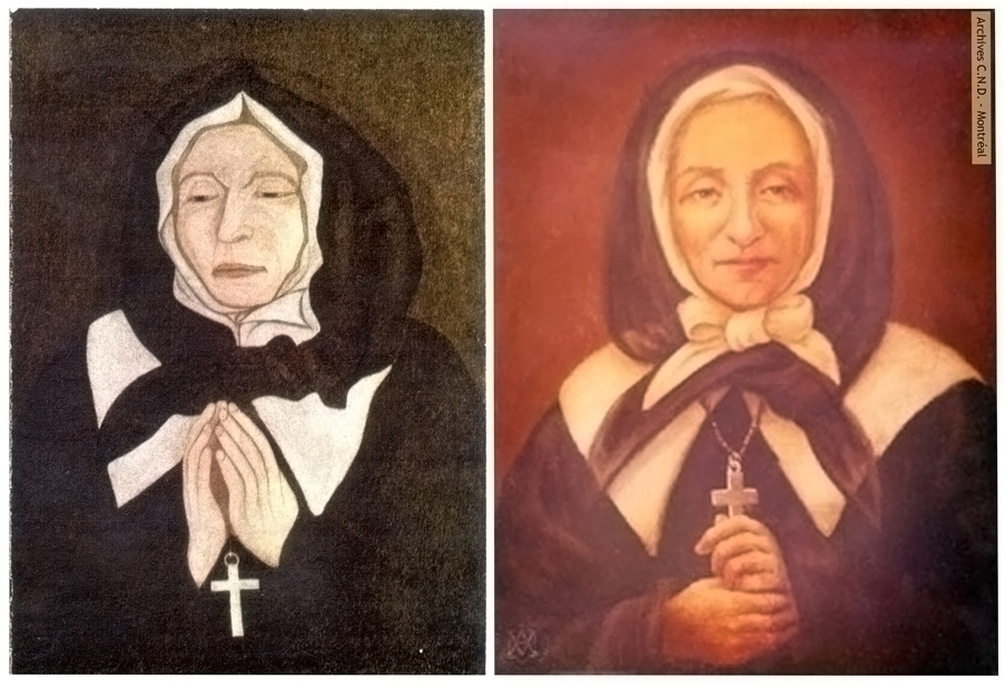 Portraits of Marguerite Bourgeoys