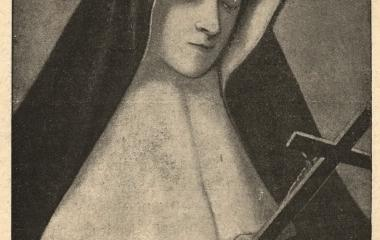 Portrait of Sister Alix Le Clerc, named Mother Thérèse de Jésus