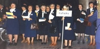 Canadian delegation in Rome